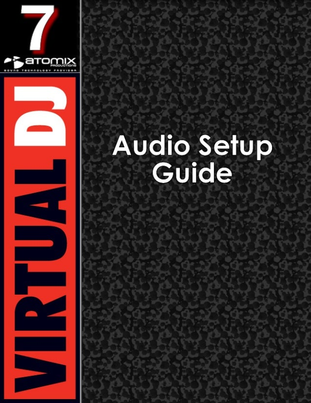 Virtual dj 7   audio setup guide