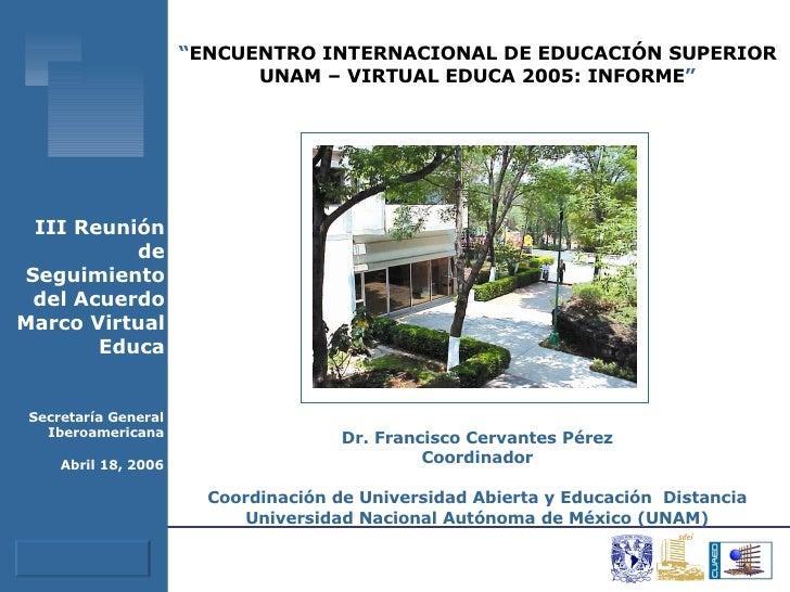 Virtual Educa05