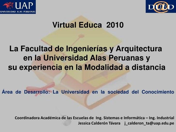 Virtual educa _2010