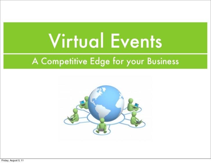 Virtual Events: A Competitive Edge