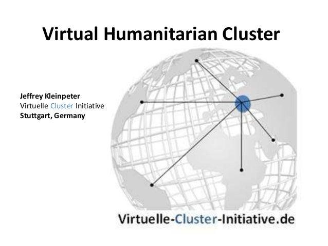 Virtual humanitarian cluster rev 2