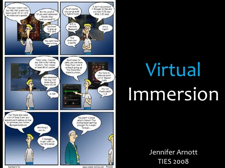Virtual Immersion