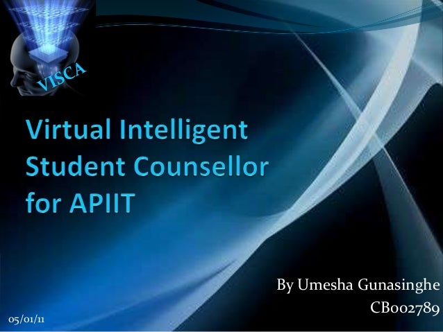 Virtual intelligent student counselor for apiit