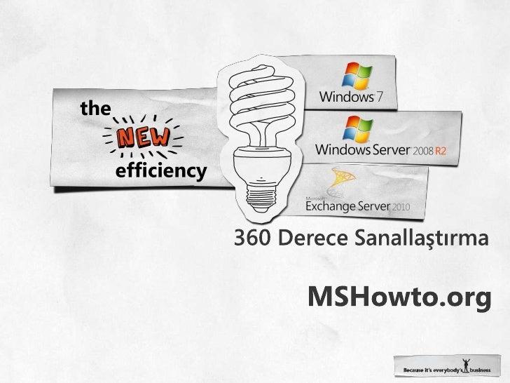 360 Derece Sanallaştırma<br />MSHowto.org<br />