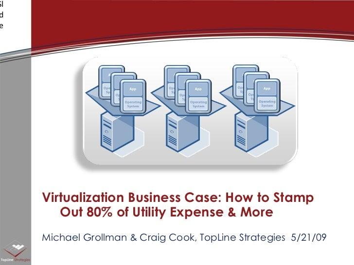 Virtualization Business Case