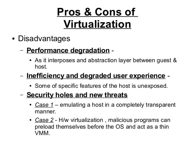 Introduction To Virtualization
