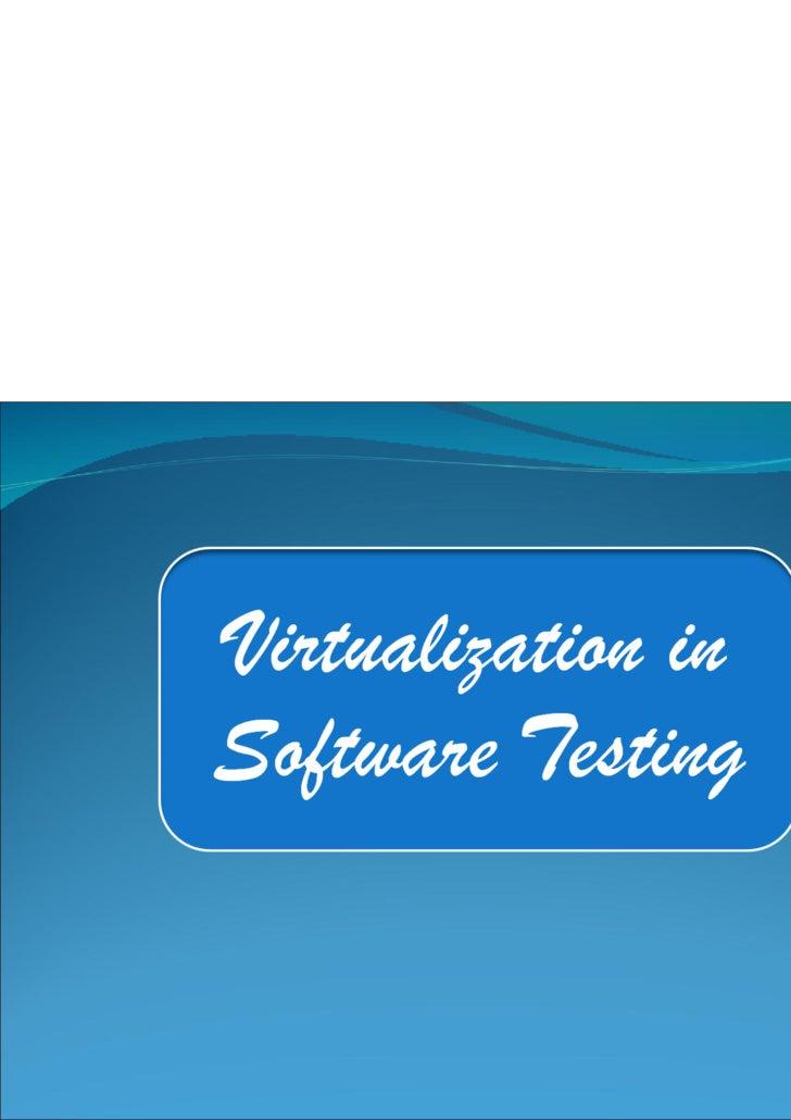 Virtualization in Computer world