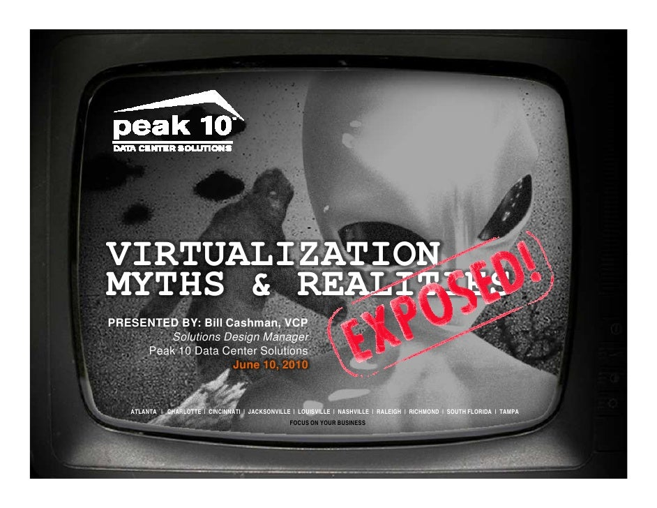 Virtualization Myths and Realities Exposed The Circuit