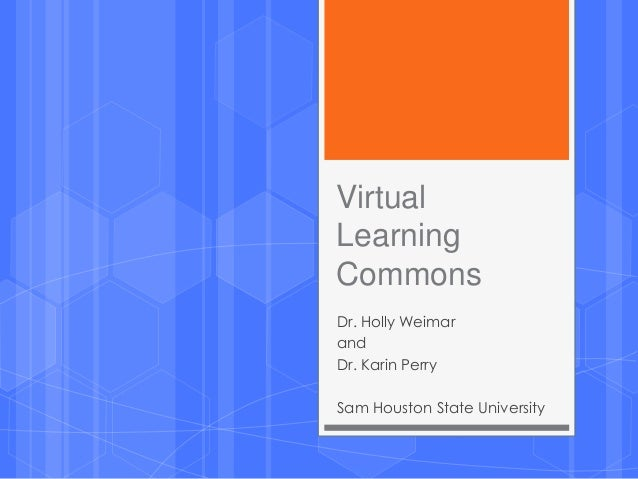 Virtual learning commons tasla