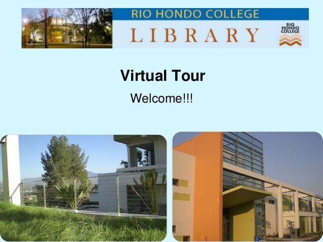 Rio Hondo College Library Virtual library tour