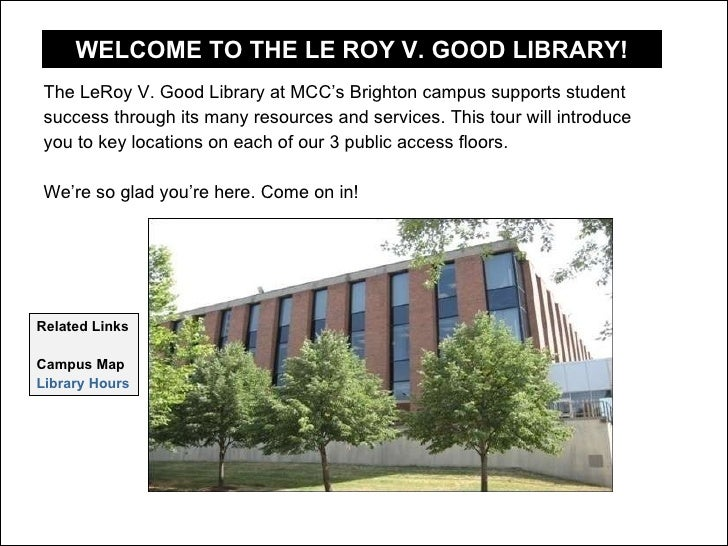 LeRoy V. Good Library