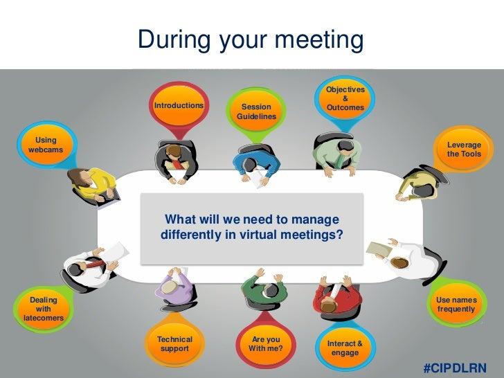 Virtual Meetings And Their Etiquette