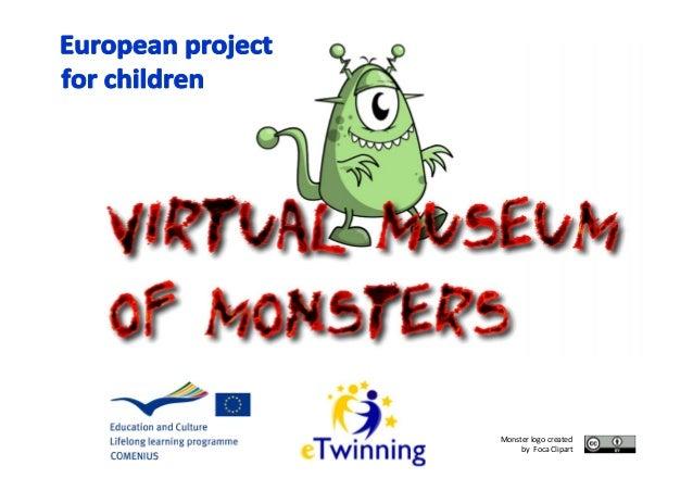 Monster logo createdby Foca Clipart