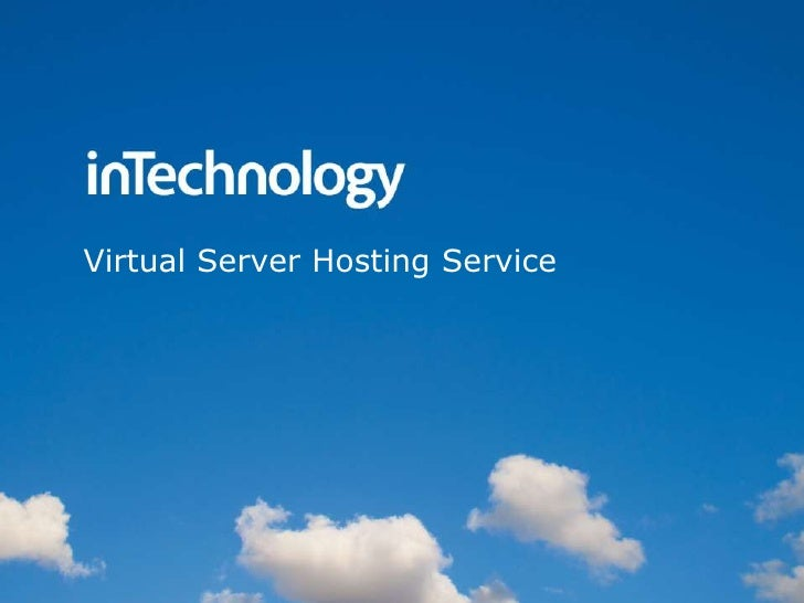 Virtual Server Hosting Service <br />