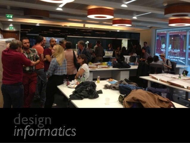 Virtualtalk2014 Design Informatics