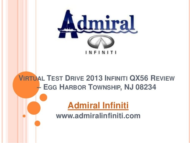 Virtual Test Drive 2013 Infiniti QX56 Review – Egg Harbor Township, NJ 08234