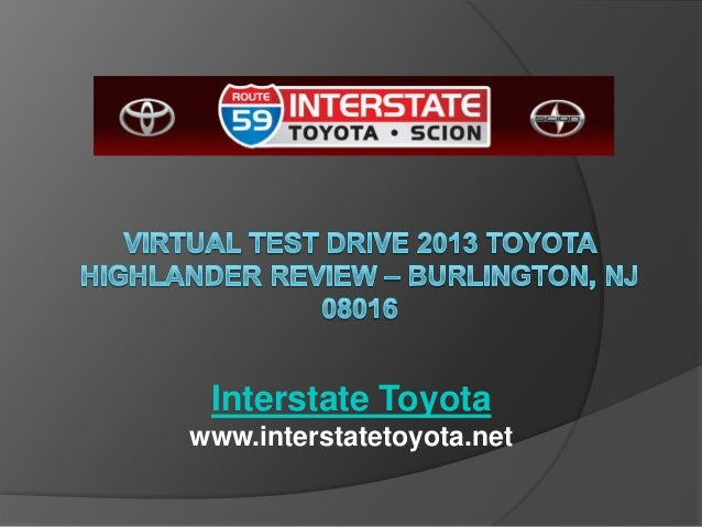 Interstate Toyota www.interstatetoyota.net