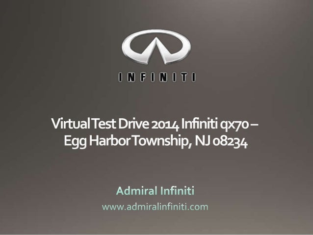 Admiral Infiniti is the Infiniti dealer for South Jersey, Philadelphia and Egg Harbor residents. We have a robust collecti...