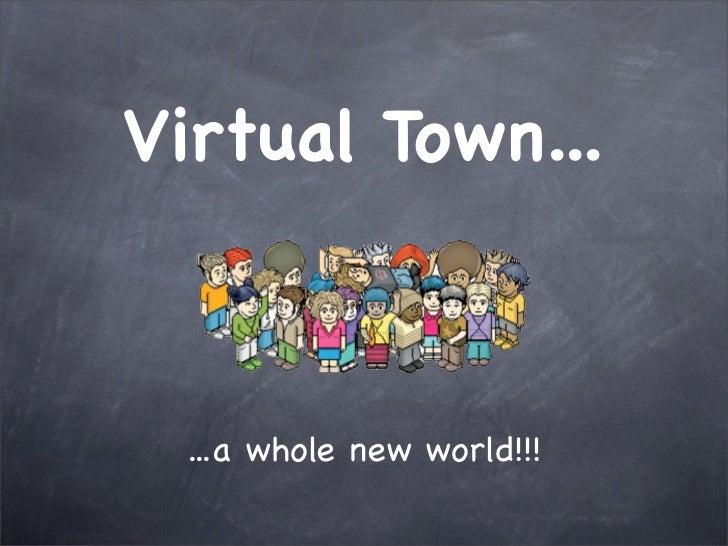 Virtual Town Business Plan