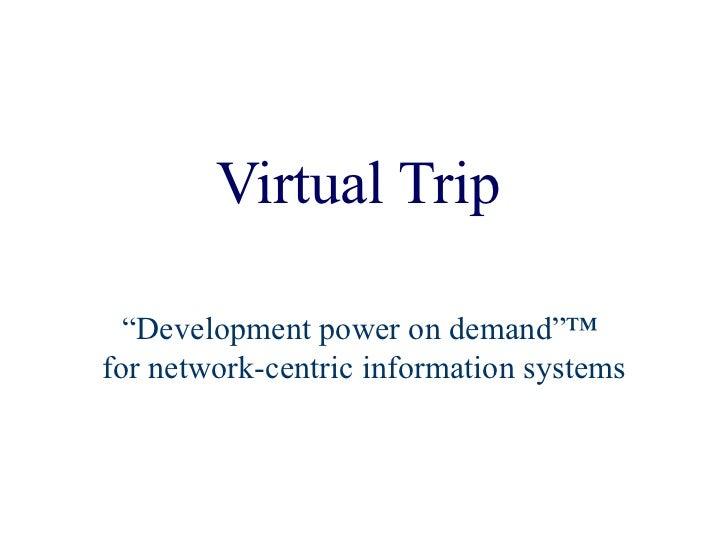 Virtual Trip Nov 2000