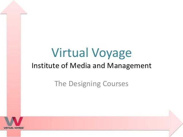 Virtual voyage-designing-courses
