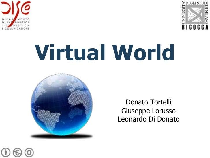 Virtual World         Donato Tortelli        Giuseppe Lorusso       Leonardo Di Donato