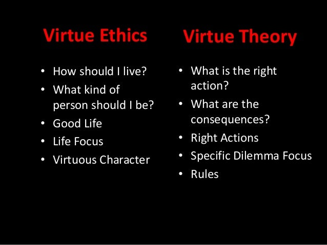 Virtue ethics essay questions