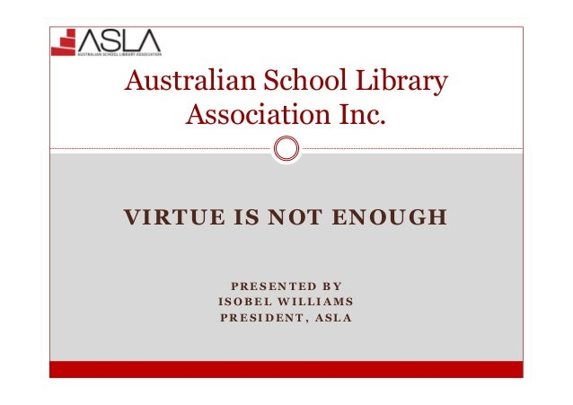 Virtue is not enough