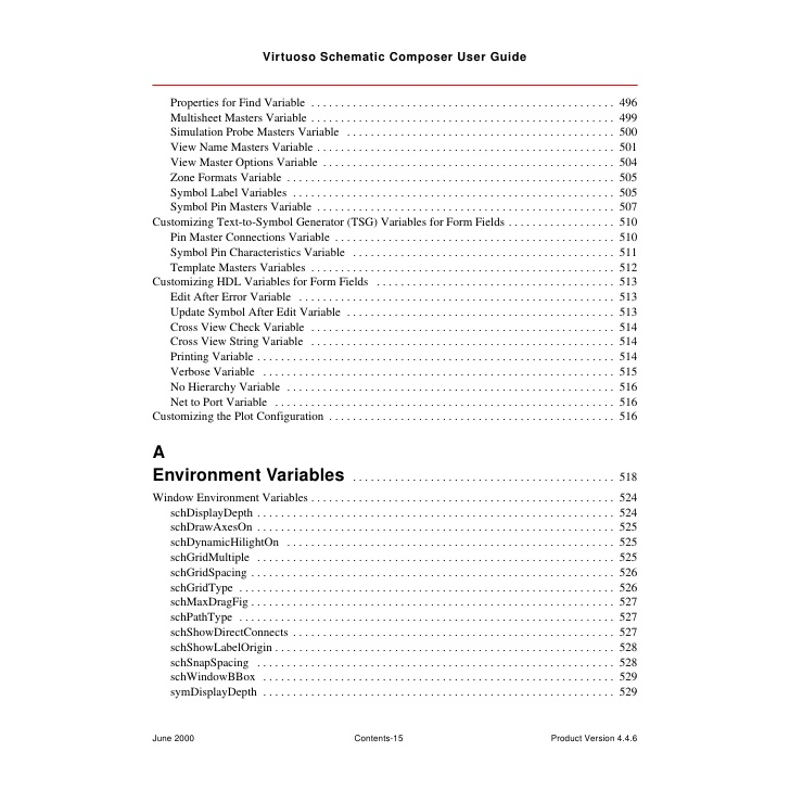 Virtuoso schematic composer user guide
