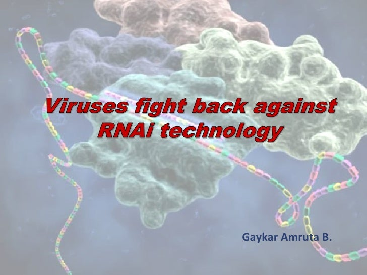 Viruses fight back against rn ai technology