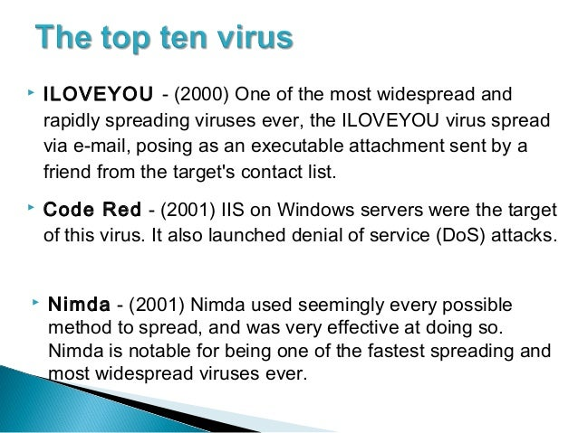Malware That Changed The World – The Melissa Virus