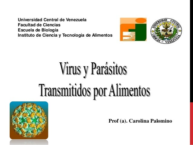 Virus y parasitos 2012