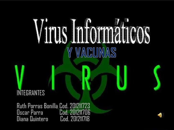Virus y vacunas diapositivas producto
