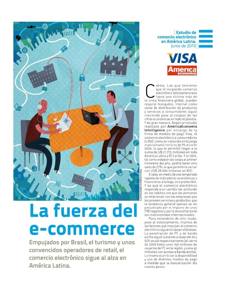 Visa america economia e commerce study 2010