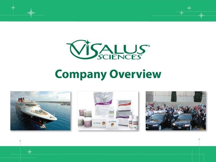 Visalus Business Opportunity Presentation