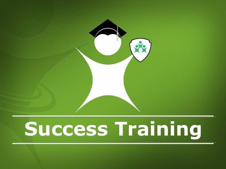 Success Training