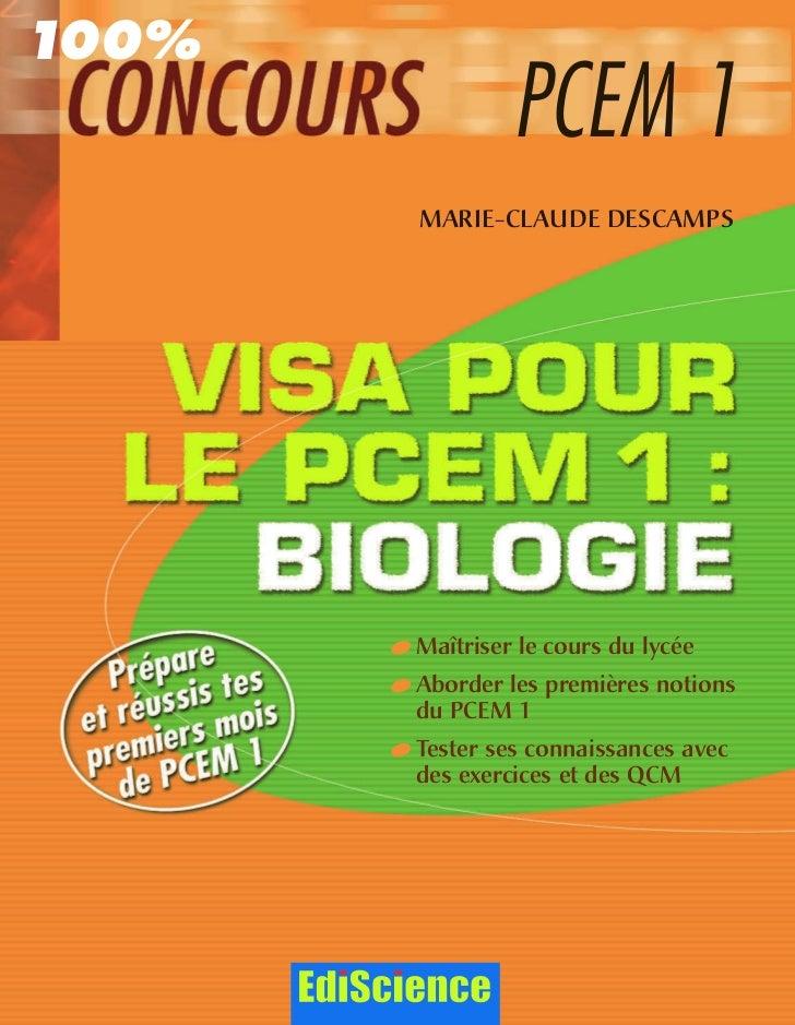 Visa pour le_pcem_1___biologie