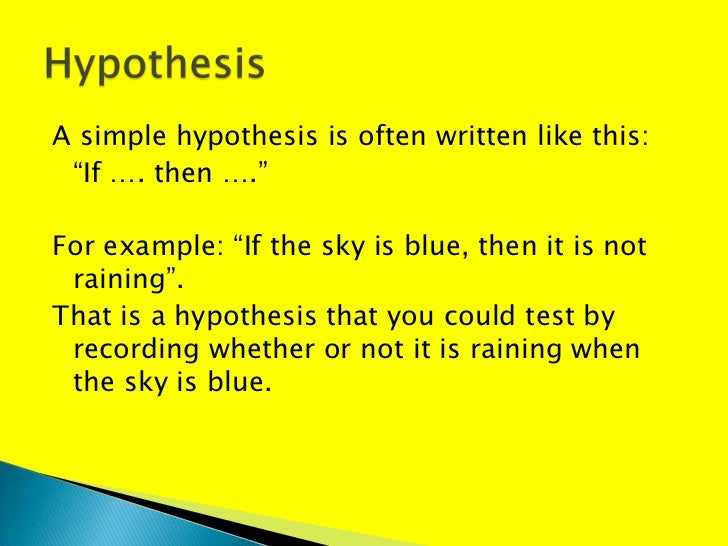hypothesis paper writing services DISSERTATION HYPOTHESIS