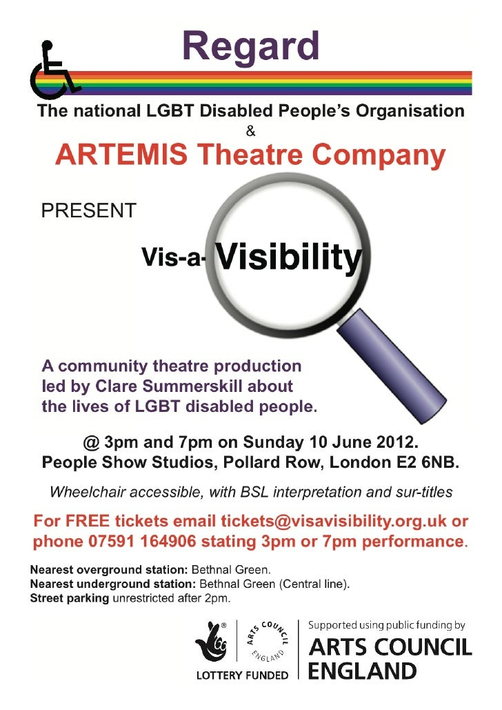 VVis-a-Visibility flyer - Performance June 10th 2012