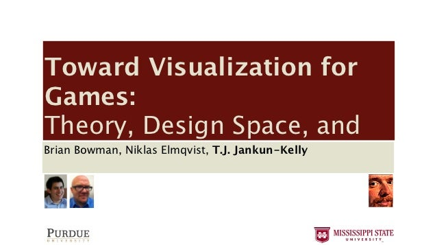 Toward Visualization for Games