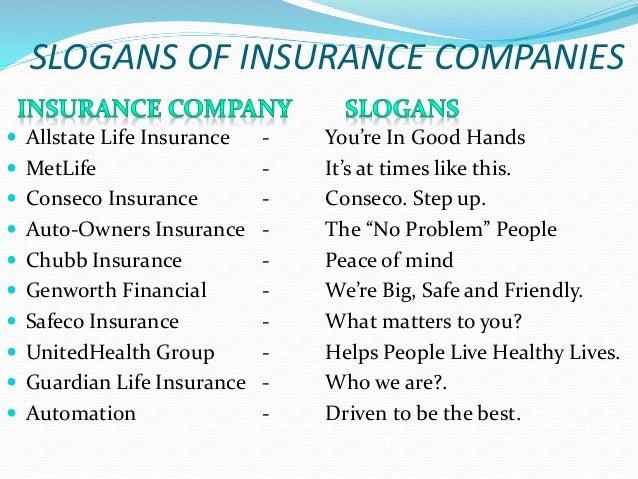 Auto insurance slogans / Auto owners insurance utah