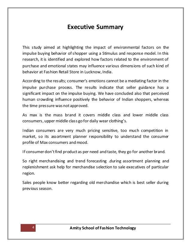 Organizational impact essay