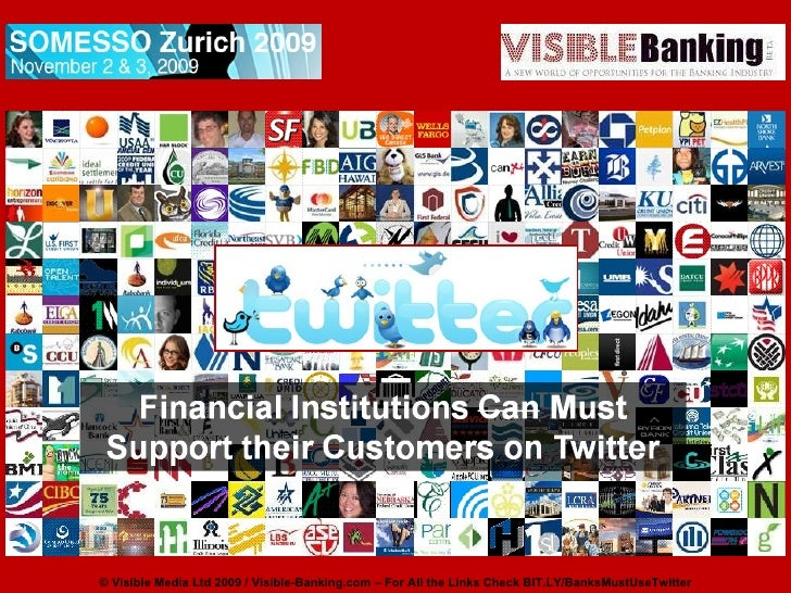 Financial Institutions Must Support Their Clients on Twitter