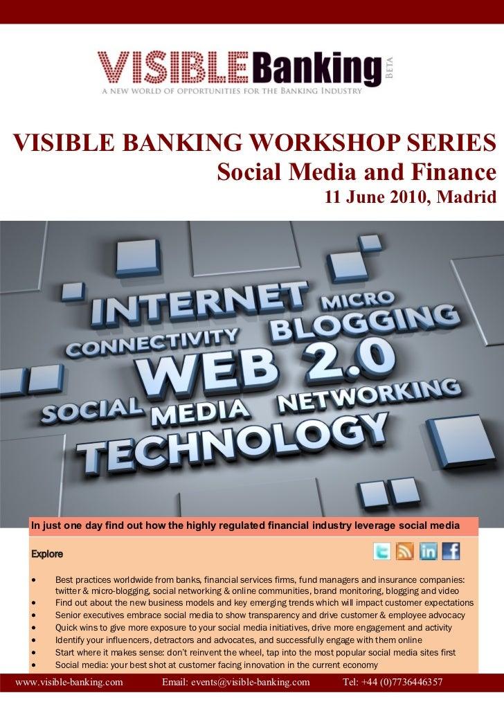 Visible banking workshop program social media and finance-madrid- reyes bolumar