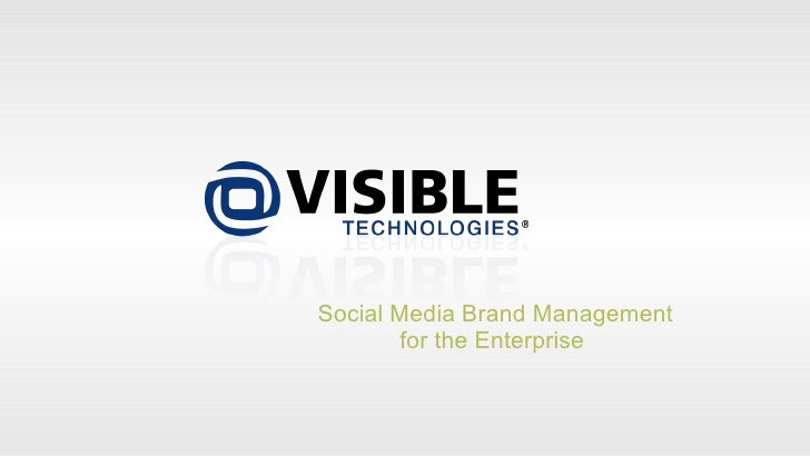 Fast Pitch Forum (Visible Technologies)