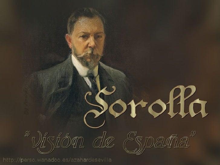 Sorolla. Visión de EspañaEn 1911, Huntington encomendó a Joaquín Sorolla (1863-1923) un encargo muyespecial que le ocupó l...