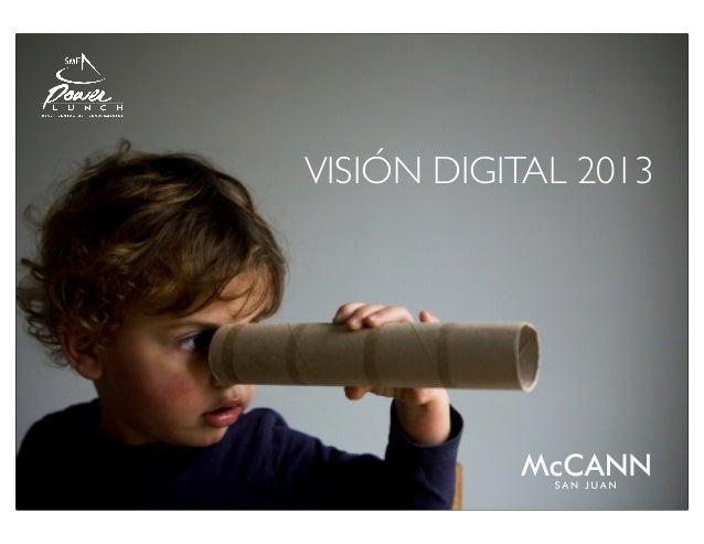 SME Power Lunch: Tendencias Digitales 2013