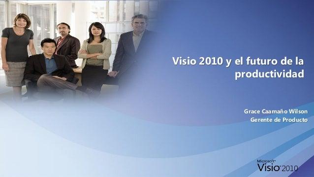 Visio 2010 - futuro afiche