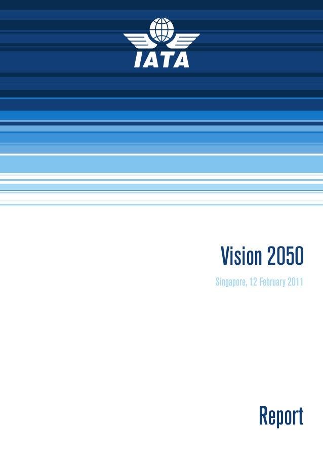 Vision 2050 IATA
