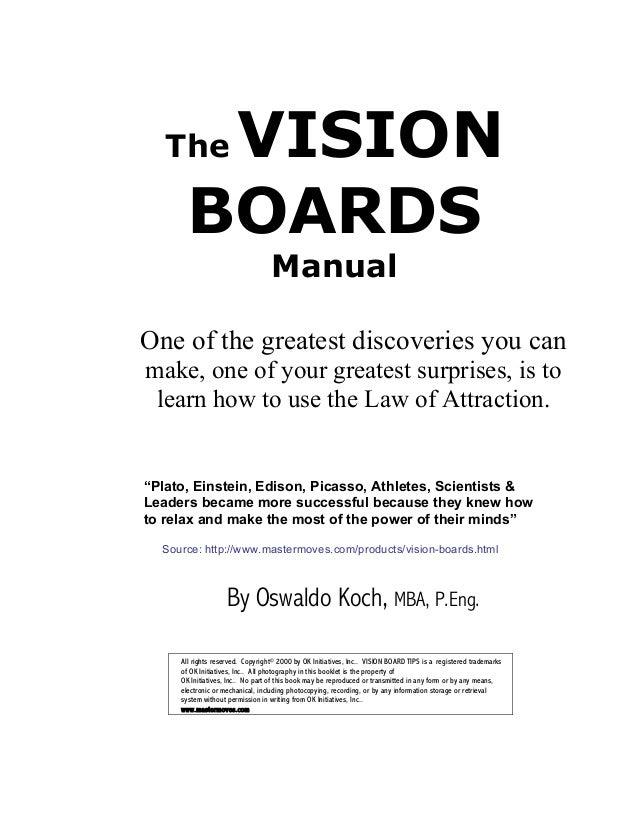 Create A Vision Board for Future
